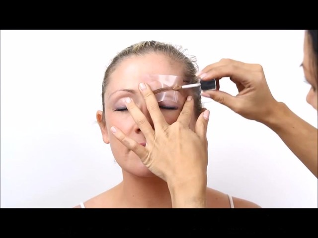 Cherry Blooms Instant Fiber Brows Application for Blonde Hair - image 6 from the video