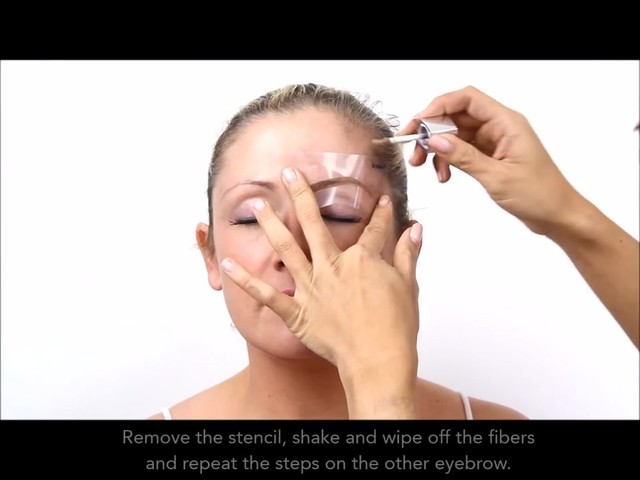 Cherry Blooms Instant Fiber Brows Application for Blonde Hair - image 7 from the video