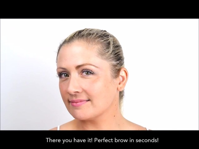 Cherry Blooms Instant Fiber Brows Application for Blonde Hair - image 8 from the video