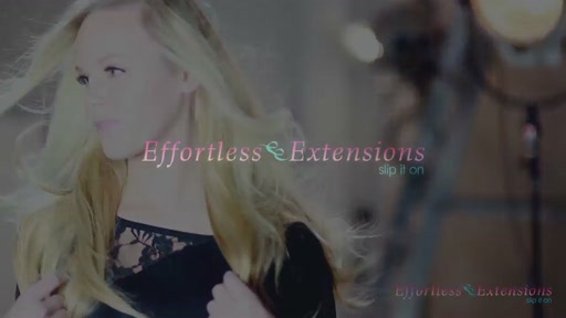 Effortless Extensions How-To Straight Blond - image 1 from the video