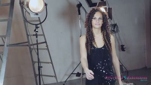 Effortless Extensions How-To Long Soft Rod Curl  - image 9 from the video