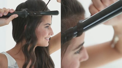 amika: small to big curls with 13-25mm tourmaline curler - image 6 from the video