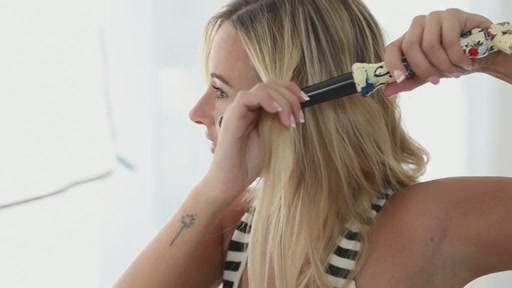 amika: big to small curls with 25-18mm tourmaline curler - image 3 from the video