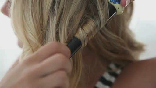 amika: big to small curls with 25-18mm tourmaline curler - image 7 from the video