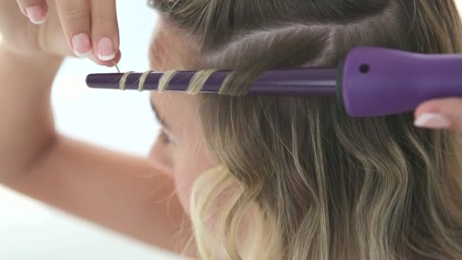 amika: tight curls with 13mm tourmaline curler - image 7 from the video