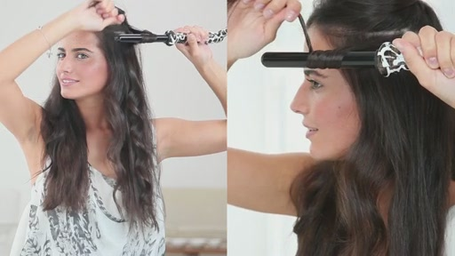 amika: loose curls with 19mm curling wand - image 6 from the video