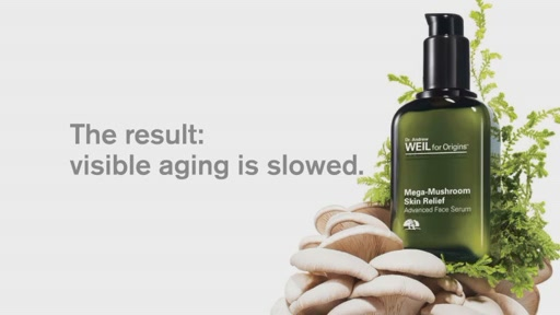 Dr. Andrew Weil for Origins Mega-Mushroom Skin Relief Advanced Face Serum  - image 10 from the video