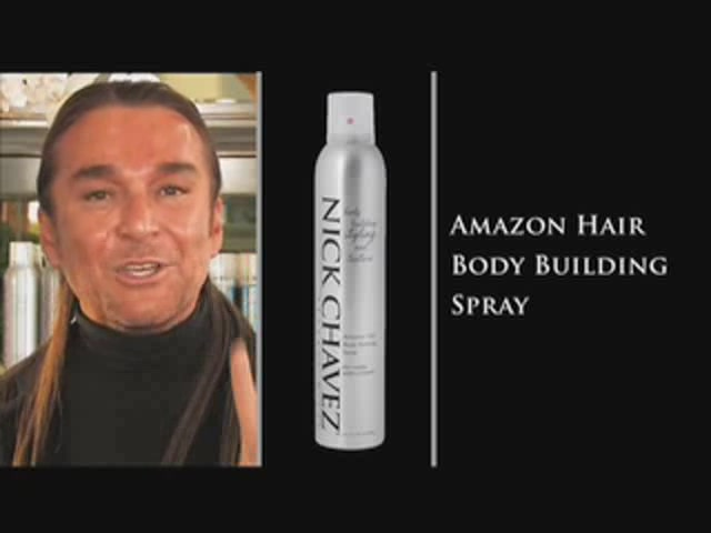 Nick Chavez Beverly Hills Amazon Hair Body Building Spray - image 3 from the video