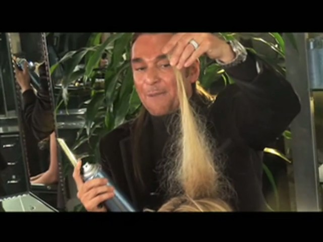 Nick Chavez Beverly Hills Volumizing Extra Hold Hair Spray - image 5 from the video