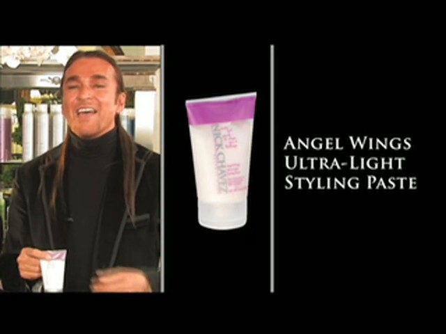Nick Chavez Beverly Hills Angel Wings Ultra-Light Styling Paste - image 2 from the video