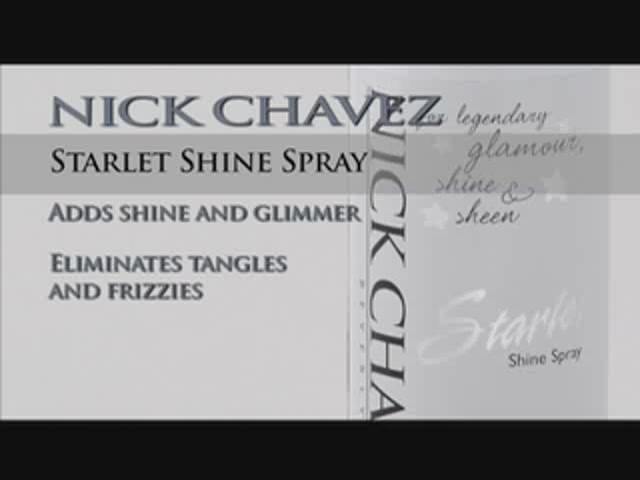 Nick Chavez Beverly Hills Starlet Shine Spray  - image 10 from the video