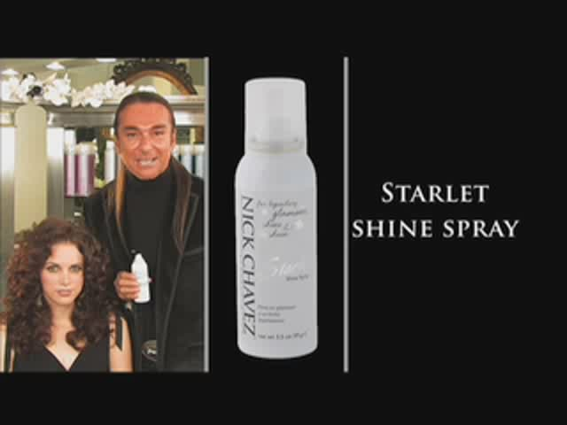 Nick Chavez Beverly Hills Starlet Shine Spray  - image 3 from the video