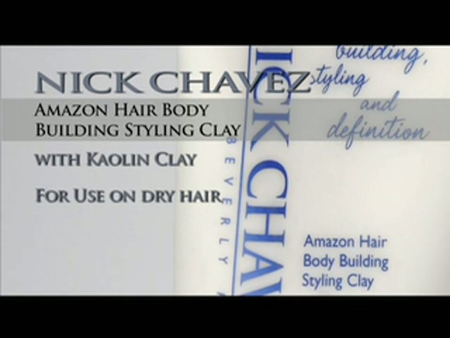 Nick Chavez Beverly Hills Amazon Hair Body Building Styling Clay - image 10 from the video