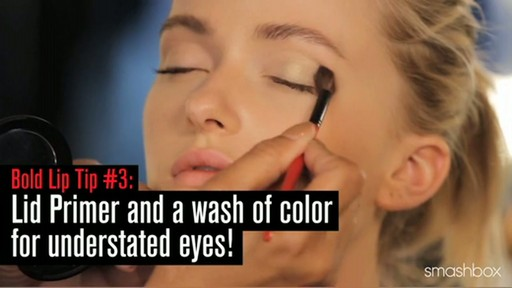 Smashbox Get The Look: Bold Matte Lips - image 6 from the video
