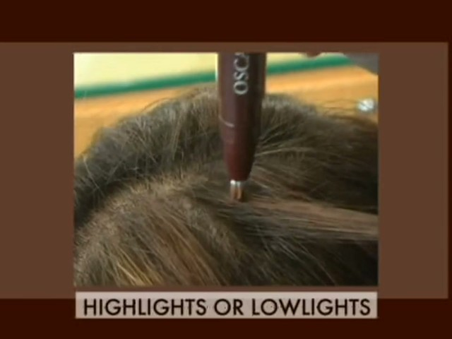 Oscar Blandi Pronto Colore Root Touch Up & Highlighting Pen - image 8 from the video