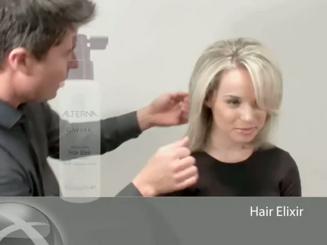 ALTERNA CAVIAR WHITE TRUFFLE HAIR ELIXIR  - image 1 from the video