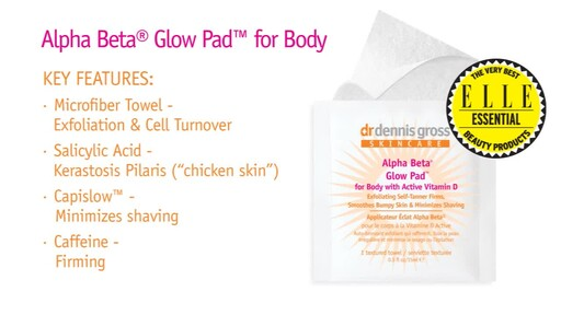 Dr. Dennis Gross Alpha Beta Glow Pads - image 6 from the video