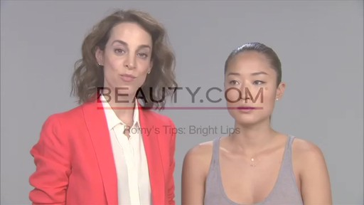 Romy's Tips: Bright Lips - image 1 from the video