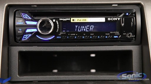 sony cdx gt570up in dash cd mp3 usb car stereo receiver 2 sony cdx gt570up in dash cd mp3 usb car stereo receiver youtube on sony cdx gt520 wiring diagram at readyjetset.co