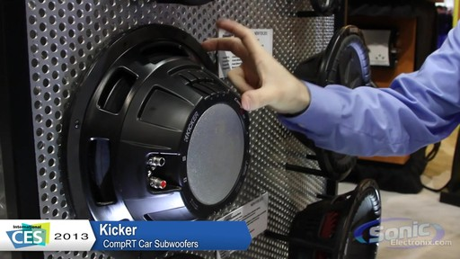 Kicker 40CWRT 1CompRT Series inch Subwoofer Dual Ohm