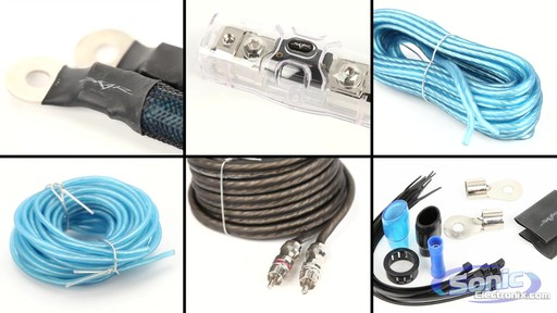 skar audio sk amp8 8 amplifier wiring kit with rca interconnects
