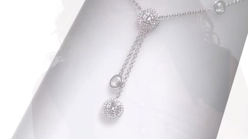 Ava Nadri Cubic Zirconia And Crystal Station Lariat