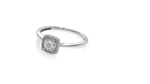 ZALES Cherished Promise Collection Diamond Accent Square Frame Promise Ring i