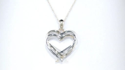 Zales Double Intertwined Heart Pendant in 10K Two-Tone Gold kUAVP