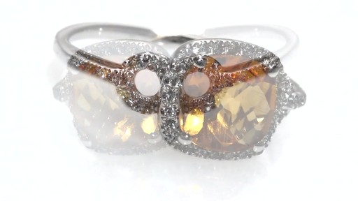Zales Citrine Bangle in Sterling Silver - 8.0 zfwZE