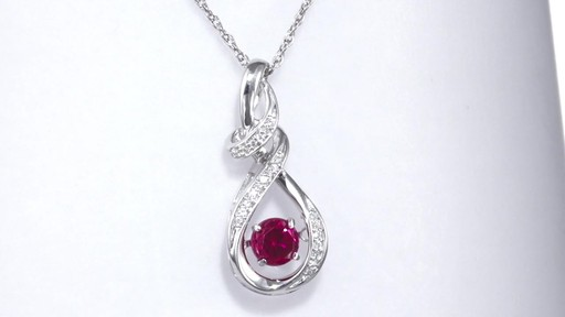 Zales Diamond Accent Double Teardrop Pendant in Sterling Silver yJKos7RVSb