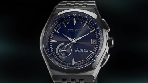 e6c26bf1e4d Men s Citizen Eco-Drive® Satellite Wave-World Time GPS Watch with Blue Dial