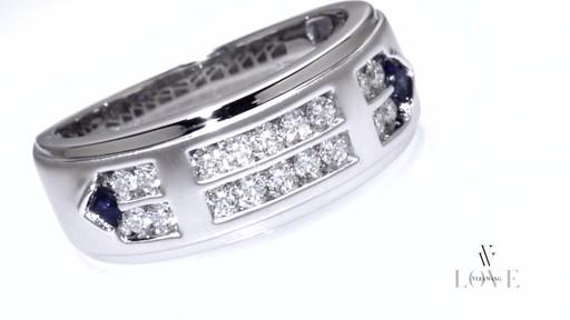 Diamond Double Row Wedding Band In 14k White Gold Vera