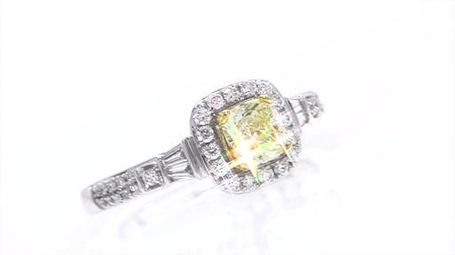 Cushion Cut Diamond Cushion Cut Diamond Ring At Zales