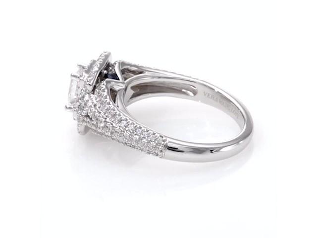 e44319f87574 Vera Wang Love Collection 1-1 3 CT. T.w. Emerald-Cut Diamond Frame ...