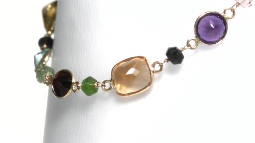 Effy Collection Multi Semi Precious Gemstone Necklace In