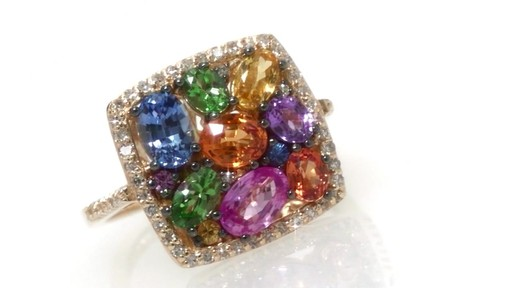 Diamond Ring In 14k Gold Effy Collection Multi Color