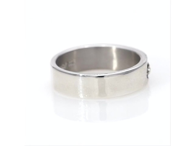 Black Hills Gold Antique-Finish Leaf Wedding Band in Sterling Silver - image 9 from the video