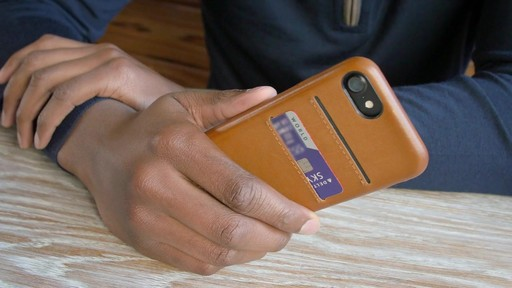 Twelve South Relaxed Leather Case for iPhone 7 Plus - image 5 from the video