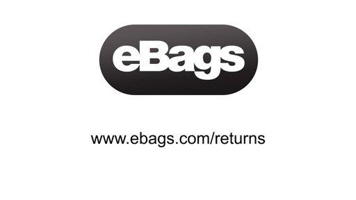 eBags Returns Process - image 2 from the video