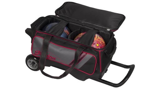 KR Strikeforce Bowling LR2 Double Roller Bag - image 5 from the video