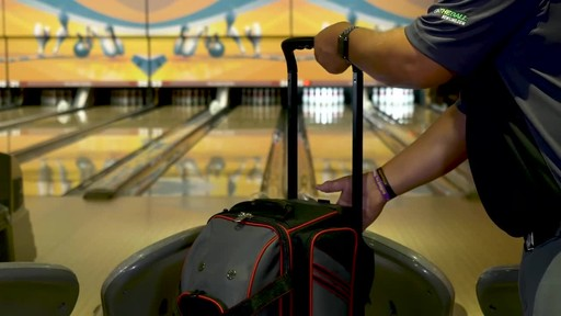 KR Strikeforce Bowling LR2 Double Roller Bag - image 6 from the video