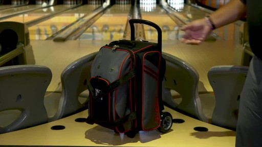 KR Strikeforce Bowling LR2 Double Roller Bag - image 7 from the video