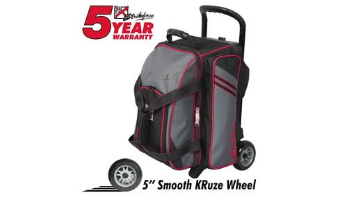 KR Strikeforce Bowling LR2 Double Roller Bag - image 9 from the video