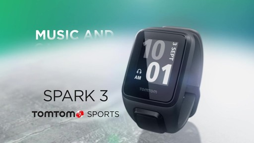 TomTom Spark 3 Cardio   Music GPS Fitness Watch - on eBags.com - image 1 from the video