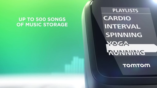 TomTom Spark 3 Cardio   Music GPS Fitness Watch - on eBags.com - image 2 from the video