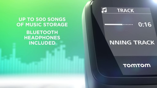 TomTom Spark 3 Cardio   Music GPS Fitness Watch - on eBags.com - image 3 from the video