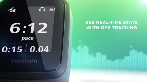 TomTom Spark 3 Cardio   Music GPS Fitness Watch - on eBags.com - image 4 from the video
