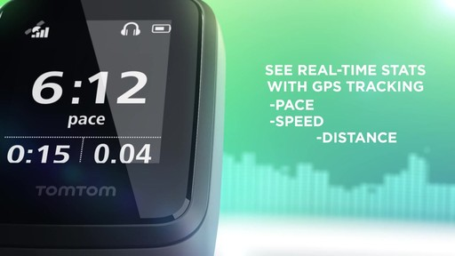TomTom Spark 3 Cardio   Music GPS Fitness Watch - on eBags.com - image 5 from the video