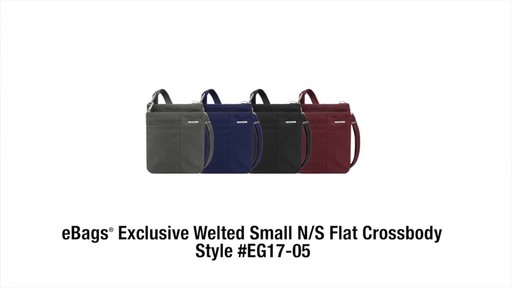 Travelon Anti-Theft Welted Small North/South Crossbody Bag - image 10 from the video
