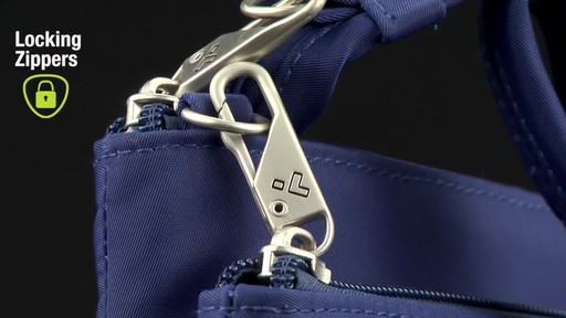 Travelon Anti-Theft Welted Small North/South Crossbody Bag - image 3 from the video